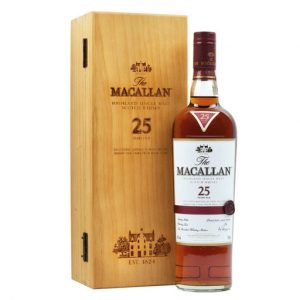 Macallan 25 sherry cask (2019) 700ml