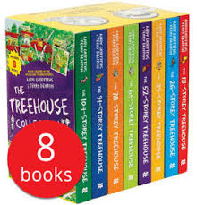 The 13-Storey Treehouse Collection – 8 Books